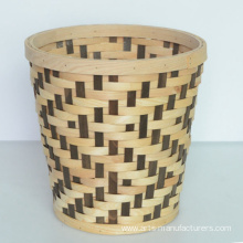 Top for Wood Bark Basket Round Wood Chip Flower Basket export to India Factory